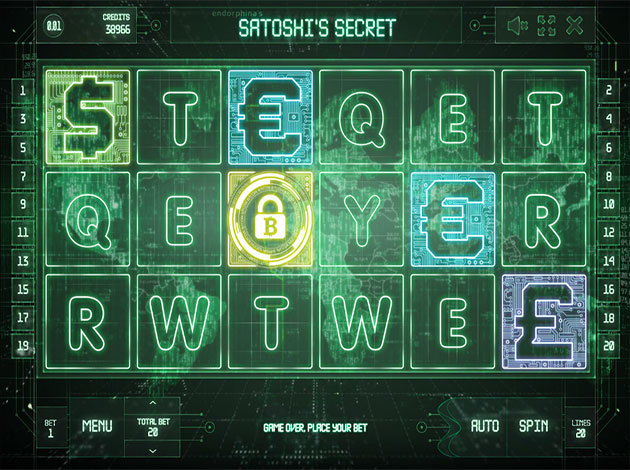 Satoshi's Secret Slot - Read more about this Bitcoin Slots Game